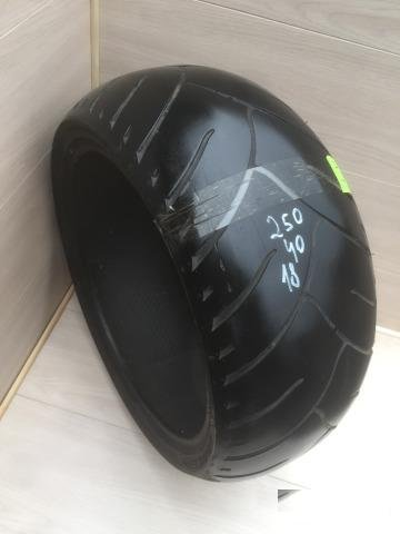 1) Dunlop Elite 3 250/40/18 TireMoto