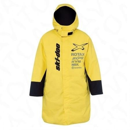 Пальто Warm-Up coat One size Sunburst Yellow