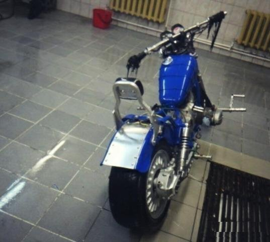 Чоппер кастом Урал Волк custom bike chopper ural